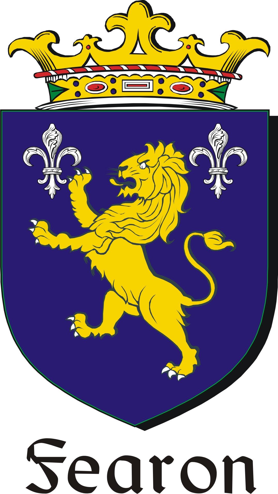 Fearon family crest irish coat of arms image download fearon fearon family crest irish coat of arms image download buycottarizona Images