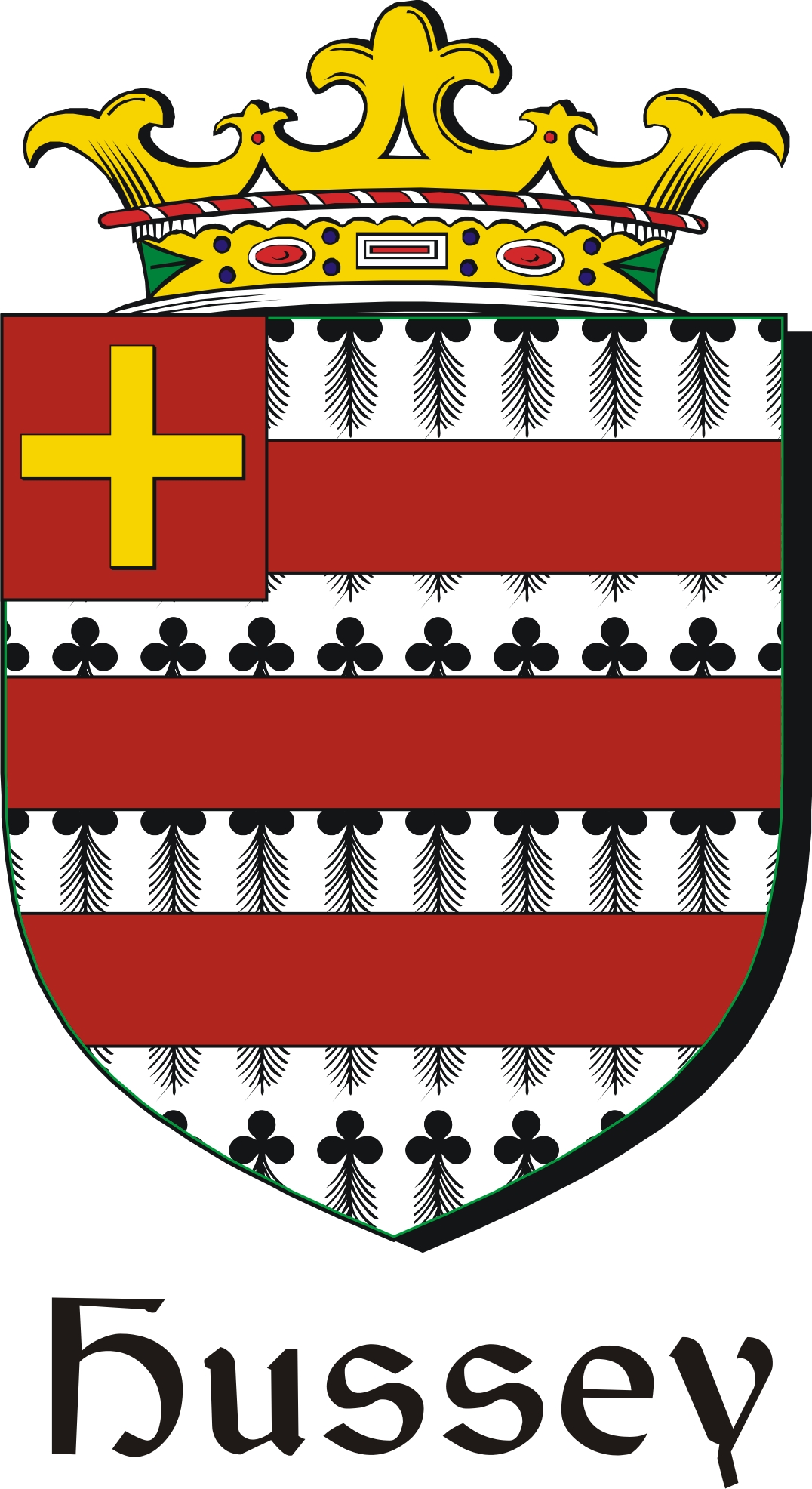 Hussey family crest irish coat of arms image download hussey hussey family crest irish coat of arms image download buycottarizona Images
