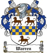 Thumbnail Warren Family Crest / Irish Coat of Arms Image Download