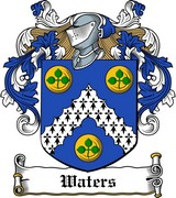 Thumbnail Waters Family Crest / Irish Coat of Arms Image Download
