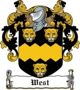 Thumbnail West Family Crest / Irish Coat of Arms Image Download