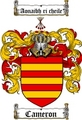 Thumbnail Cameron Family Crest / Cameron Coat of Arms
