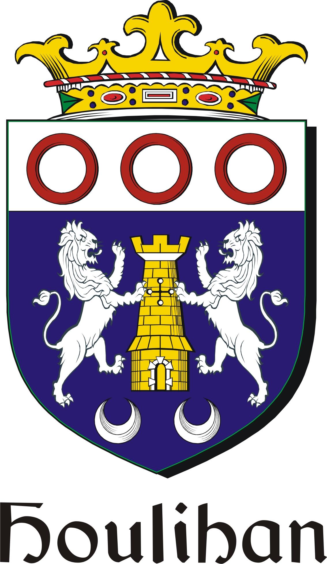 Houlihan family crest irish coat of arms image download houlihan houlihan family crest irish coat of arms image download buycottarizona Images