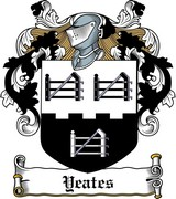 Product picture Yeates Family Crest / Irish Coat of Arms Image Download