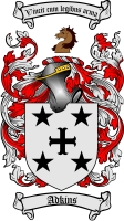 Product picture Adkins Family Crest / Adkins Coat of Arms