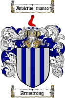 Product picture Armstrong Family Crest / Armstrong Coat of Arms